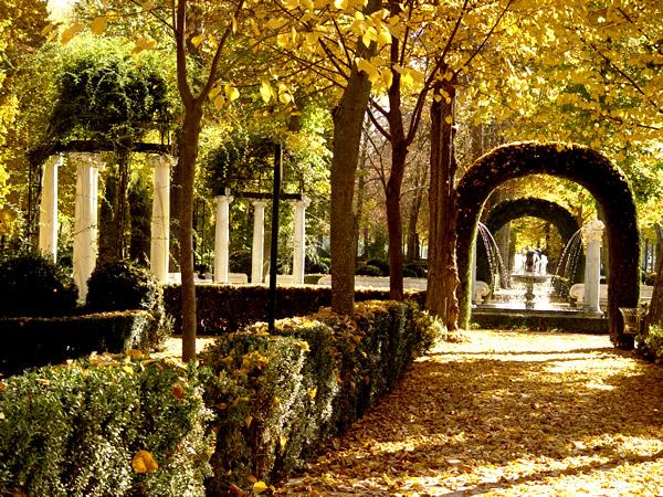jardin de la isla de aranjuez
